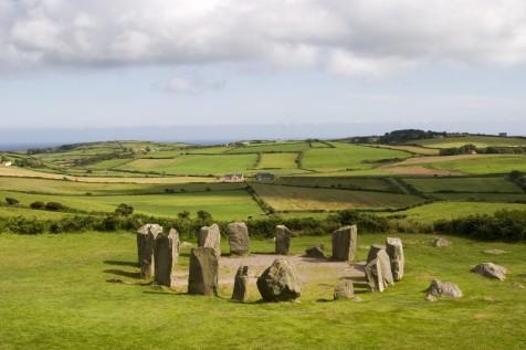 Stone Circle at Drombeg